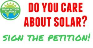 solar power petition