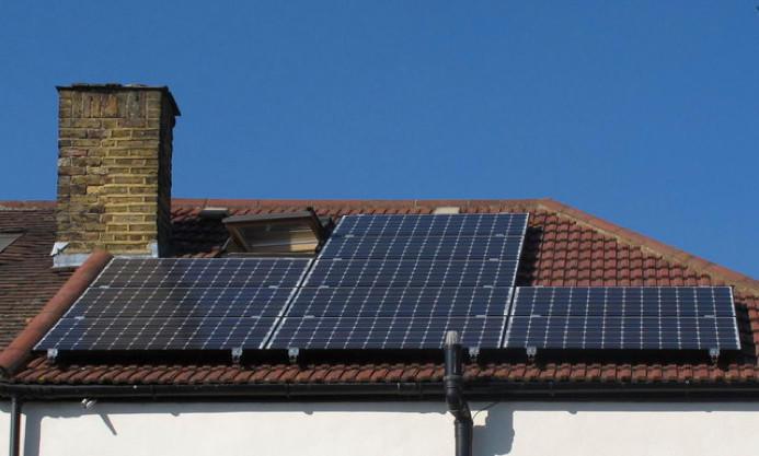 residental solar setup