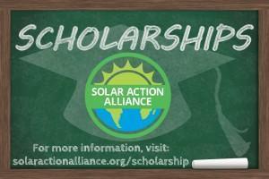 solar action alliance scholarship