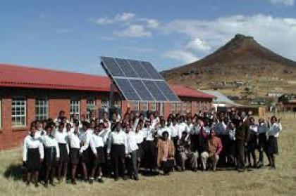 solar school application