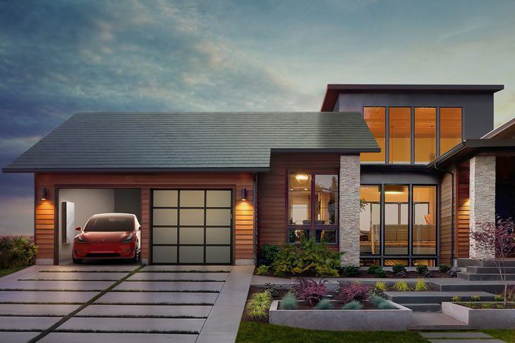 tesla solar roof example